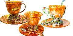18.09.19 Новые янтарные чашечки для чая и кофе