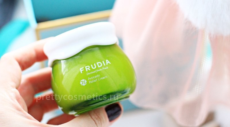 Питательный корейский крем с авокадо Frudia Avocado Relief Cream