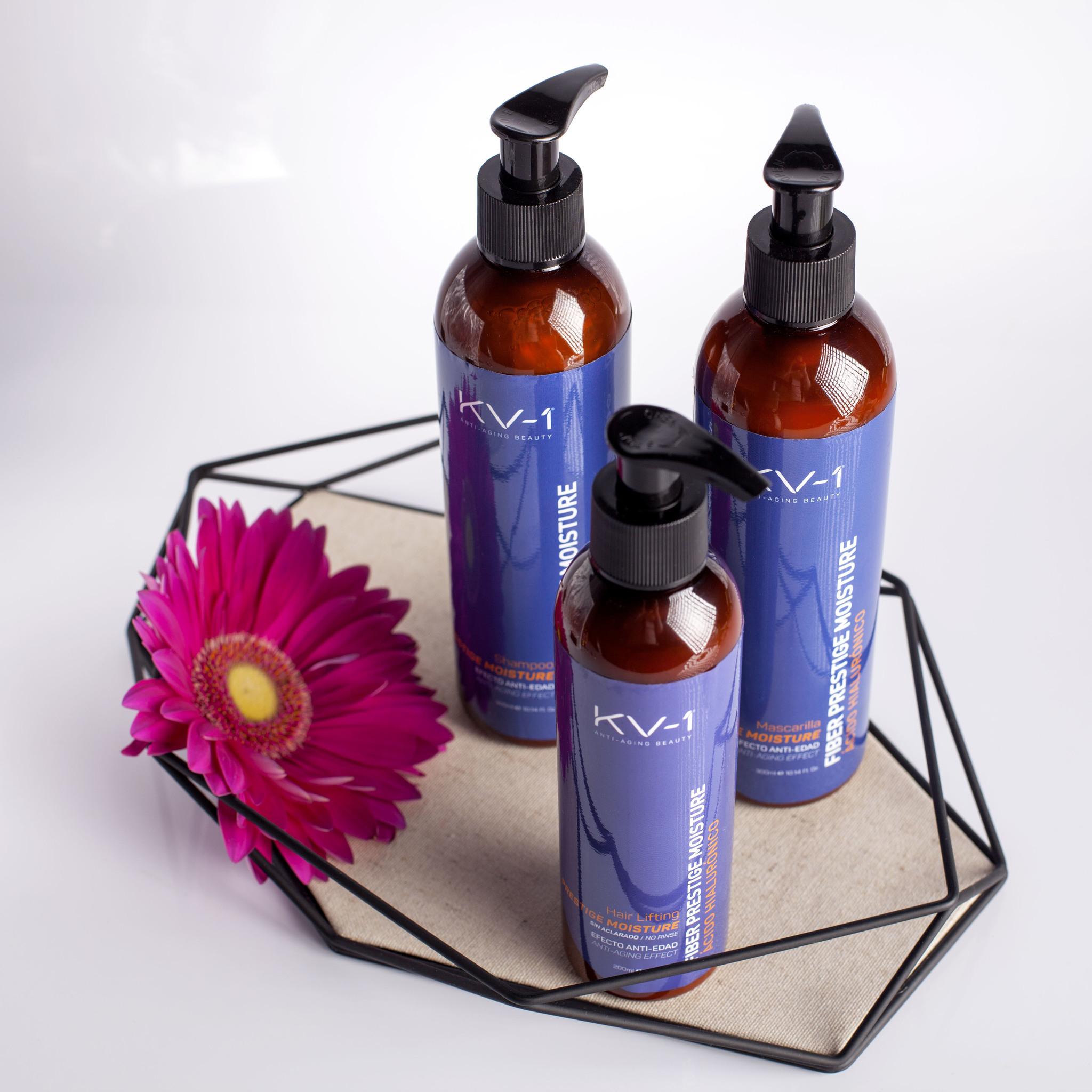 Интесивное увлажнение волос Fiber Prestige Moisture KV-1