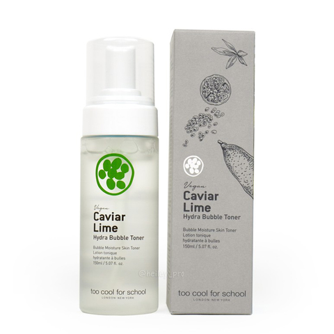 Обзор на Тонер  TOO COOL FOR SCHOOL'S CAVIAR LIME HYDRA BUBBLE TONER