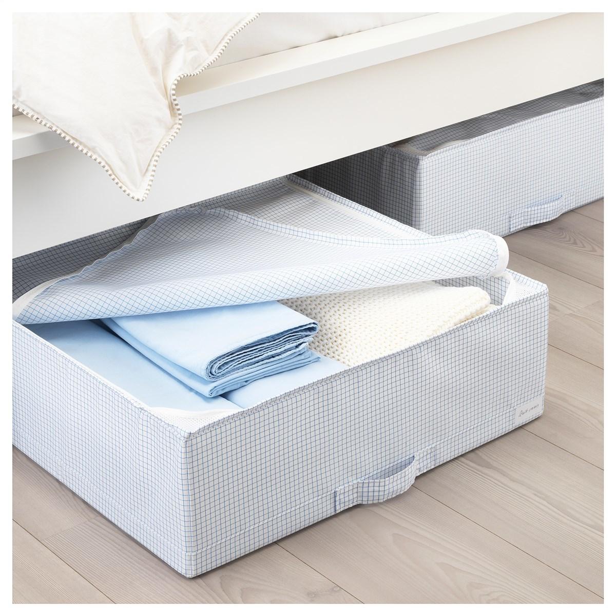 Удобные способы хранения постельного белья