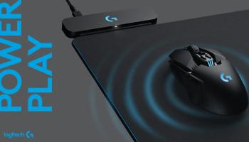 Logitech Powerplay заряжает мышь с помощью коврика
