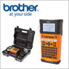 Компания Brother представляет новый принтер для печати наклеек  PT-E300VP, cозданный специально для промышленной маркировки
