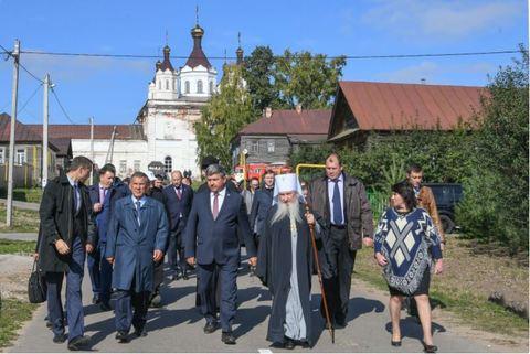 Президент Татарстана и глава Татарстанской митрополии посетили храмы города Лаишево