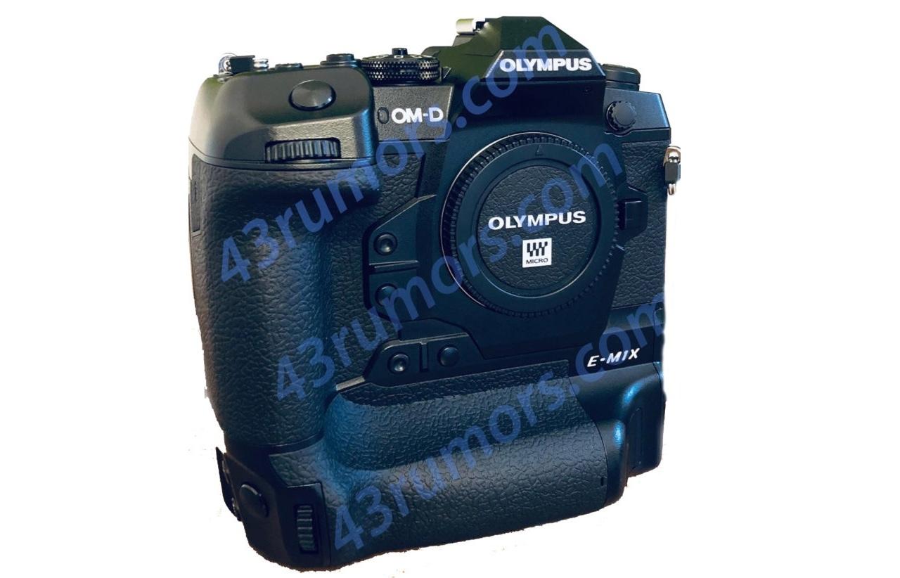 Первые изображения Olympus OM-D E-M1X