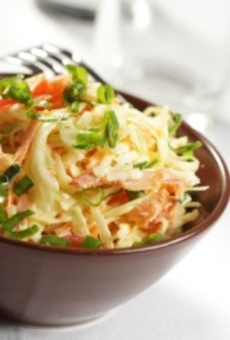 Салат с тунцом и ширатаки