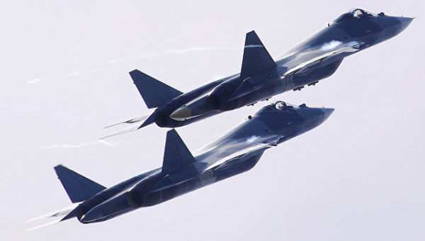 Су-57 непобедим в воздушном бою