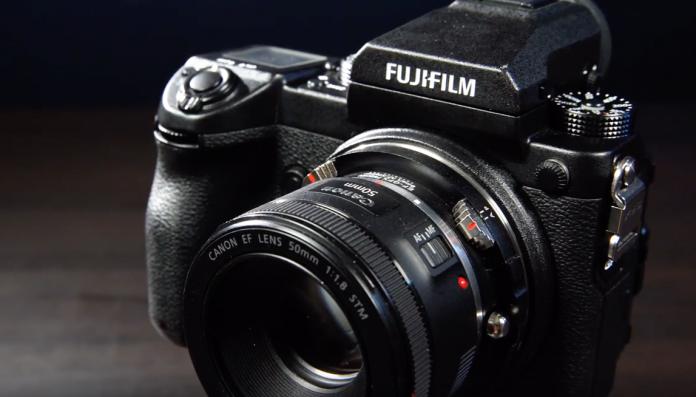 Fotodiox представил адаптер Canon EF/Fuji X