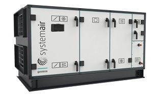 Systemair улучшила воздухообрабатывающие модули Geniox