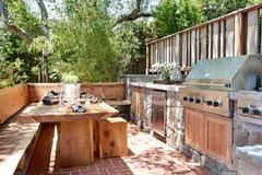 Как построить правильную барбекю-кухню на Вашем участке?