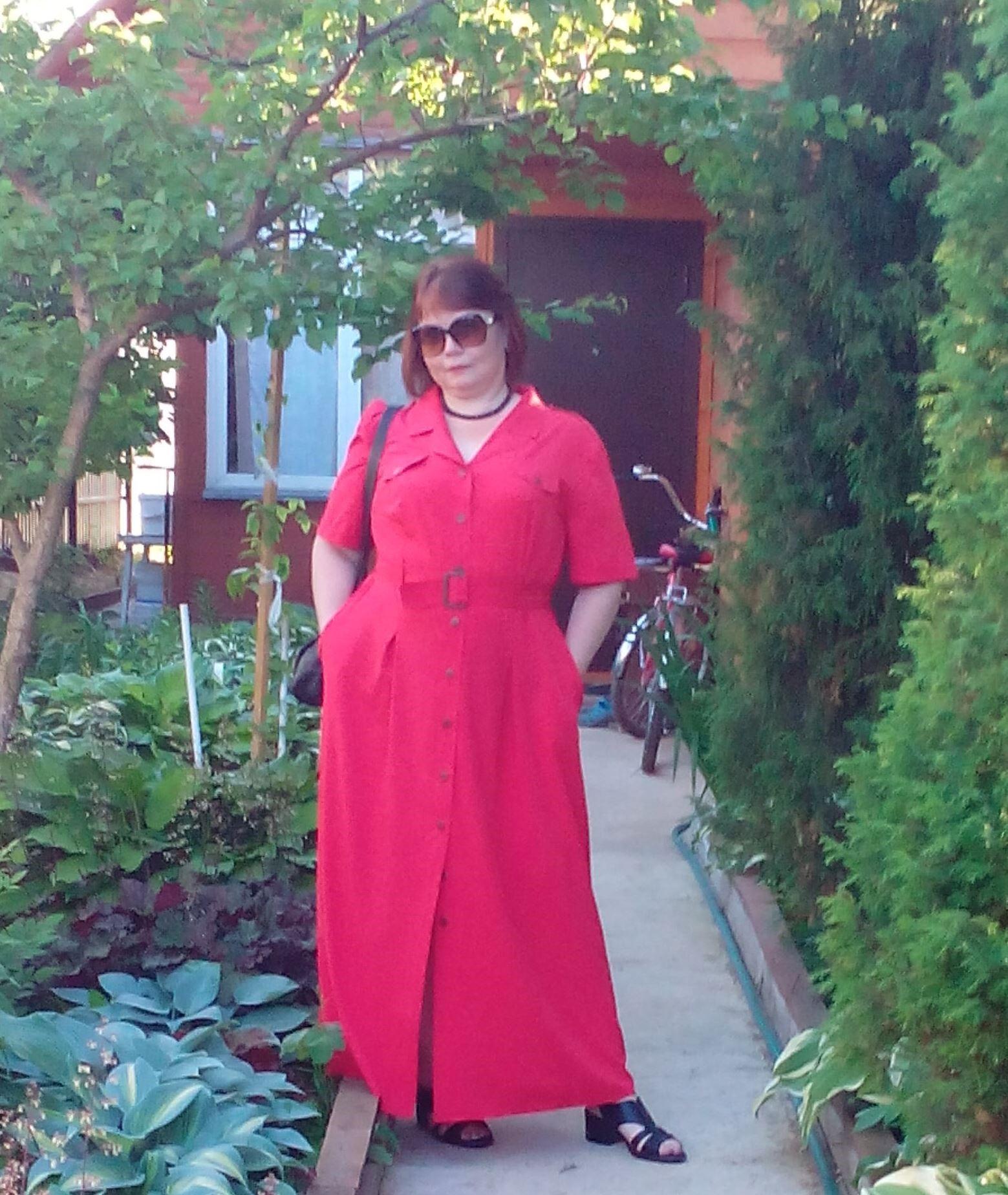 Отзыв о платье 4458