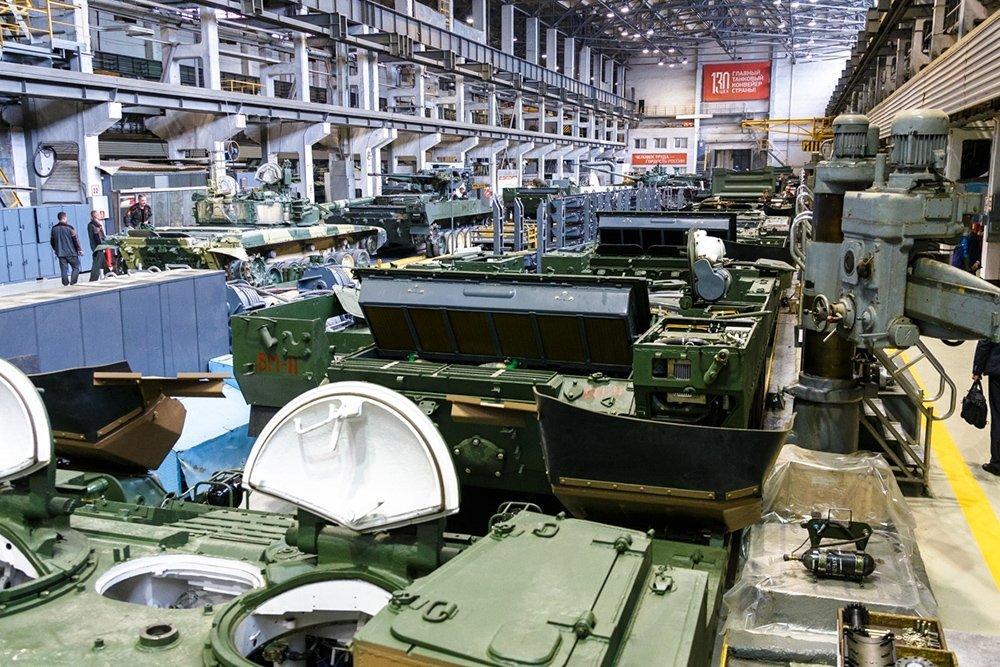 Готовится выпуск безэкипажных танков