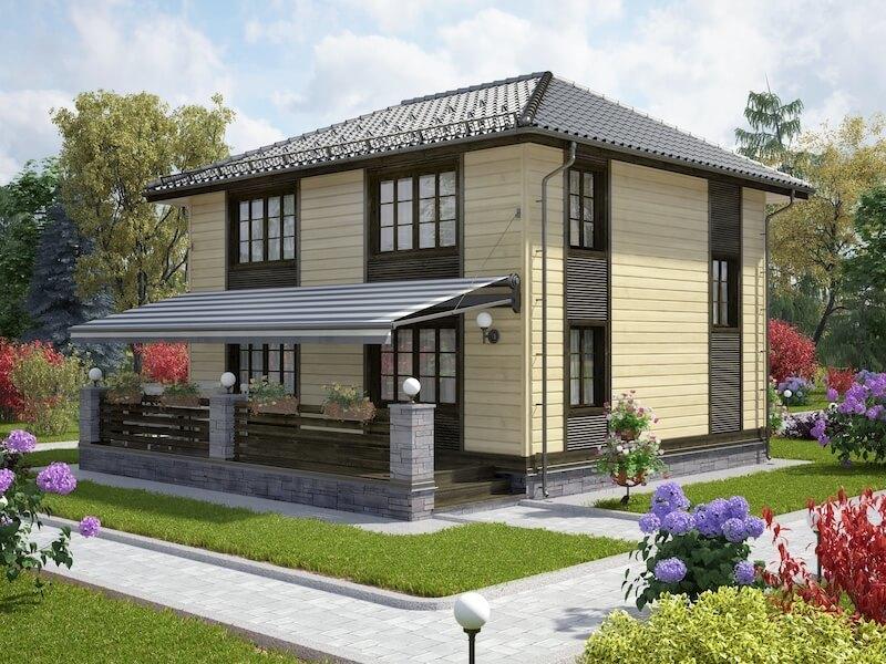 проекты двухэтажных домов фото с верандой другой информации, потасовке