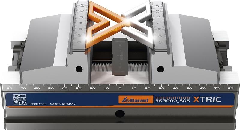 «Click & Clamp» («Защелкни и зажми») с центрирующими тисками GARANT Xtric