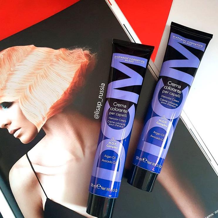 Вы уже знакомы с данным красителем от Diapason Cosmetics Milano?