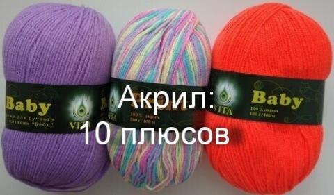 10 причин выбрать акриловую пряжу для вязания