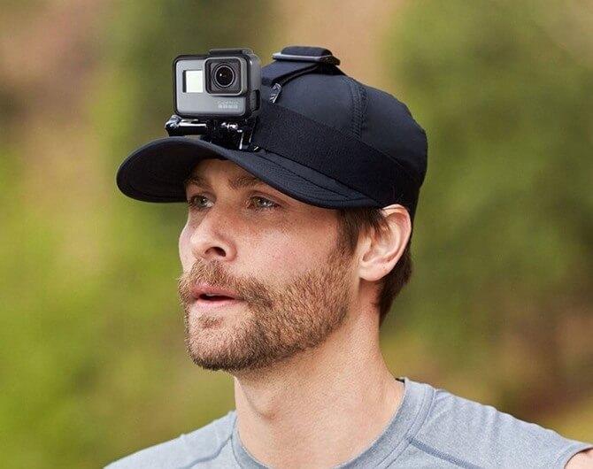 Крепление на голову + клипса на одежду GoPro Headstrap + QuickClip (ACHOM-001)