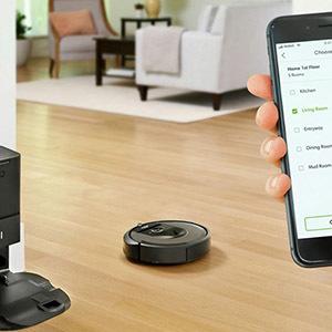 Робот Roomba i7 + - самый функциональный пылесос