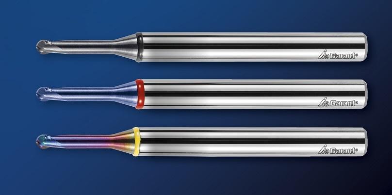 Микрофрезы GARANT теперь позволяют обрабатывать высоколегированные и закаленные стали