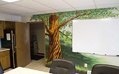 Урок аэрографии:   текстура дерева