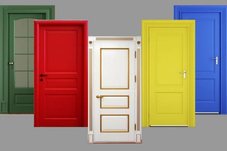 Как выбрать дверь, покрытую эмалью