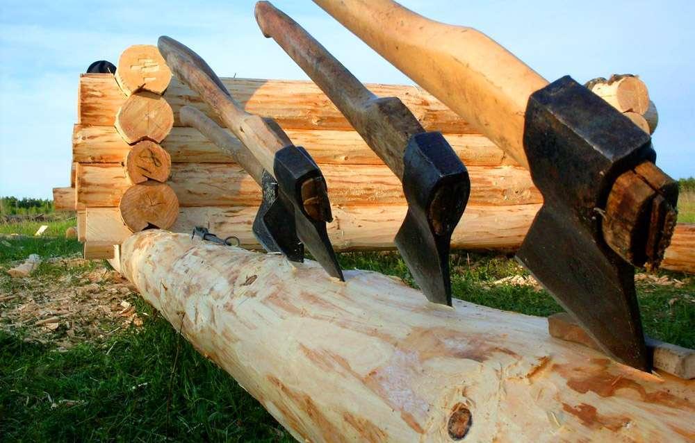 Биозащита древесины при ручной рубке