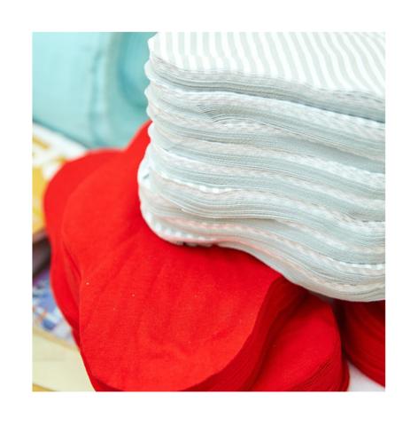 Что за непромокаемый материал используется в многоразовых прокладках?