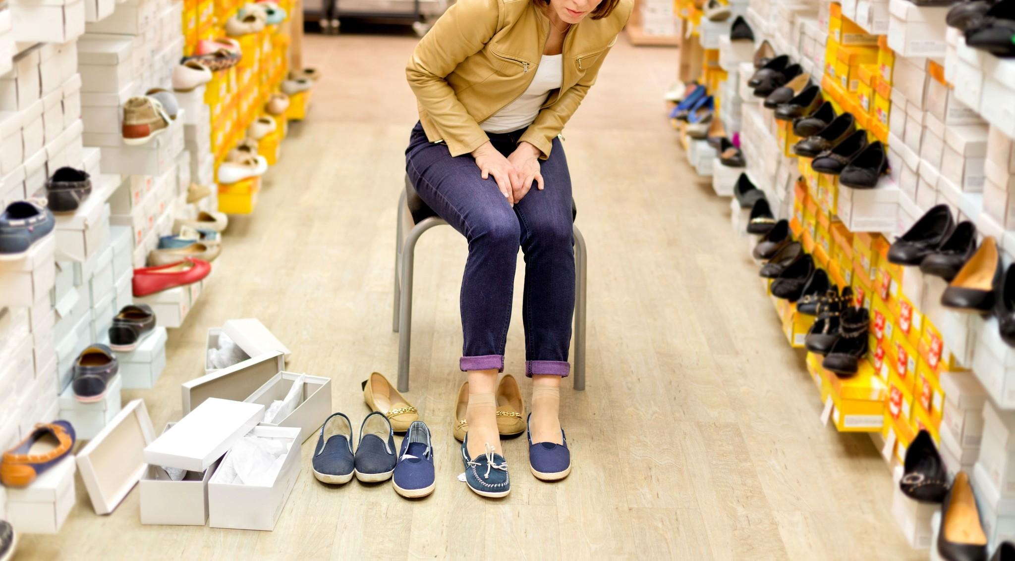 Что делать когда болят ноги и тяжело подобрать обувь?
