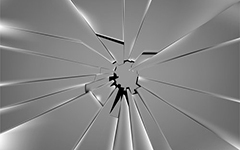 Урок аэрографии:  текстура разбитого стекла