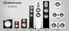 До 09.01. Новогодняя скидка 25% на акустику Monitor Audio Silver 6G