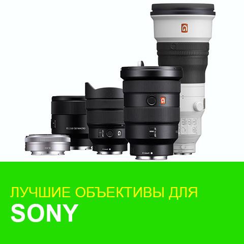 Лучшие объективы для кропнутых камер Sony