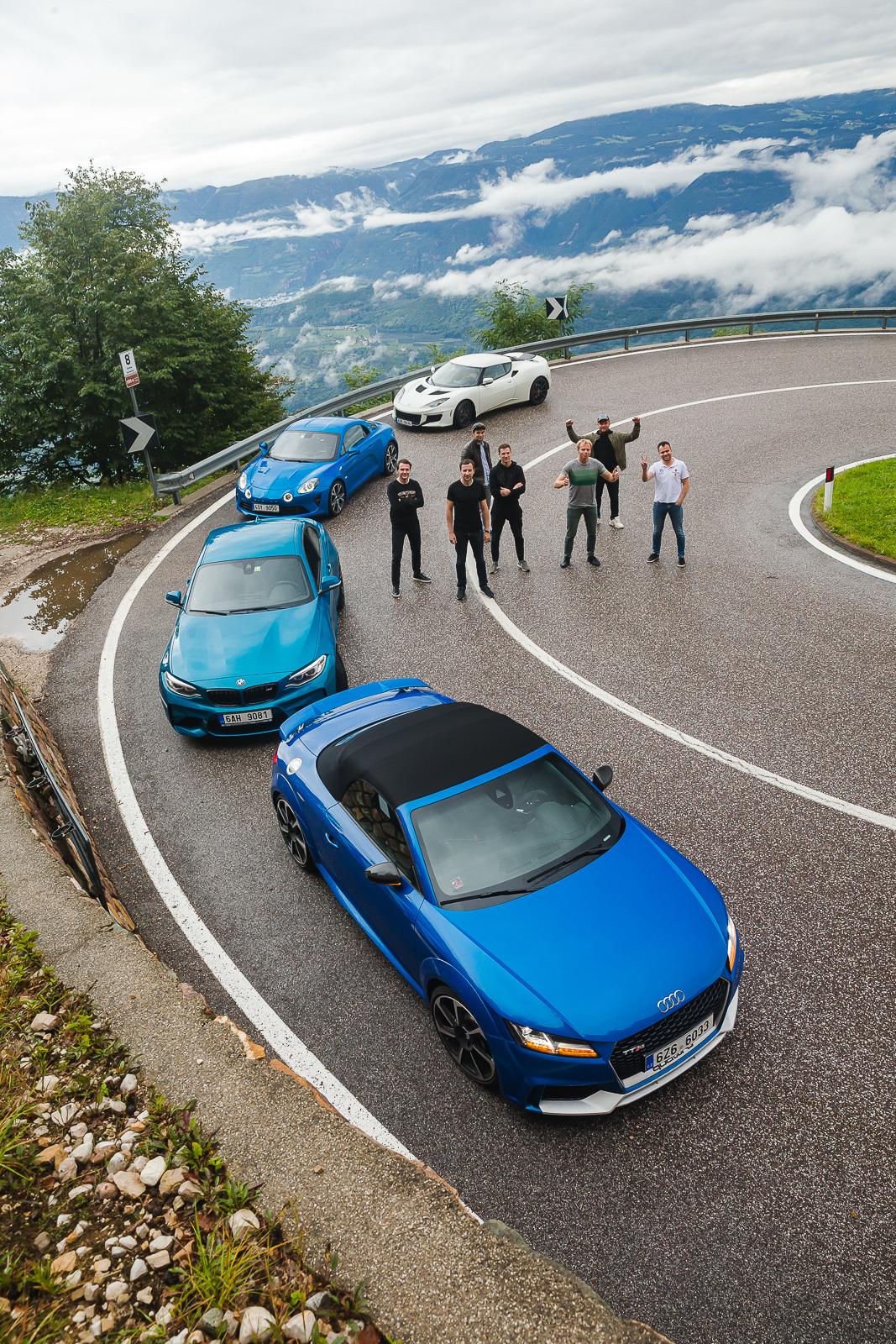 Путешествия на спорткарах в Альпах и Европе от Hodoor Performance