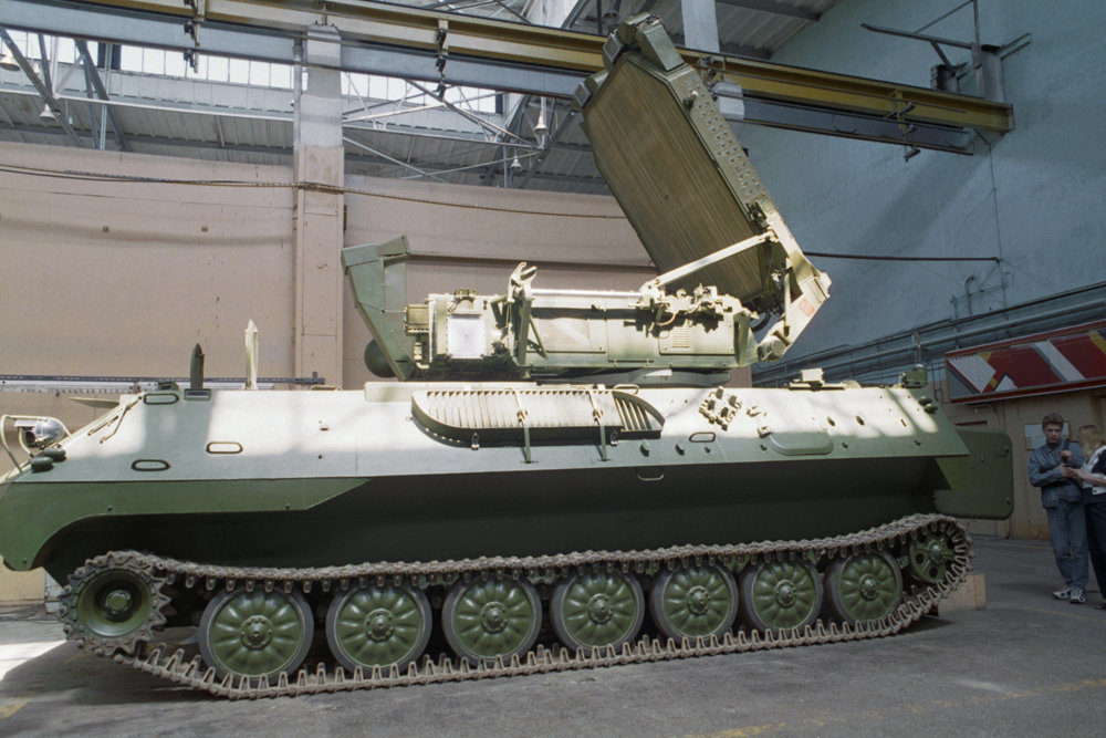 Сибирские артиллеристы получили на вооружение