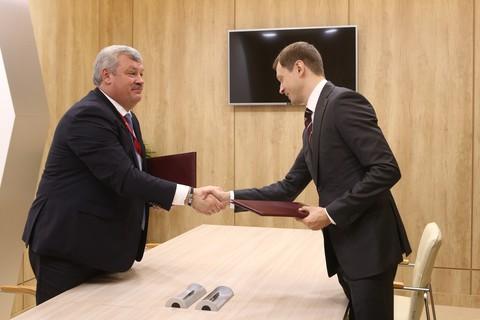 Подписание соглашения о сотрудничестве с Республикой Коми