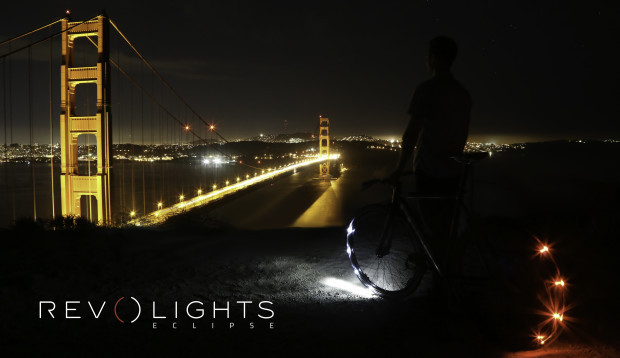 Revolights Eclipse: самая яркая и заметная система освещения для велосипеда