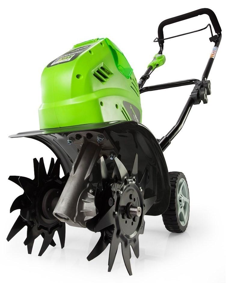 Greenworks G40TL: подробный обзор модели