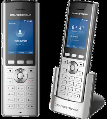 Компания Grandstream анонсирует выпуск портативного WiFi IP-телефона