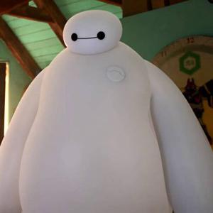 Надувной робот от компании Disney