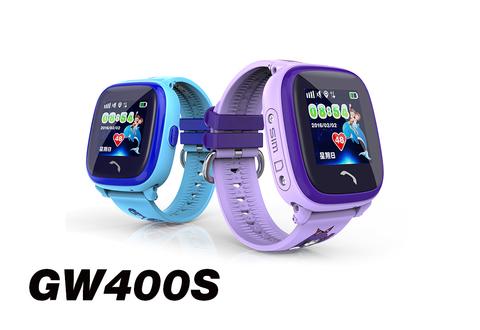 Обзор водонепроницаемые умные детские GPS часы GW400S