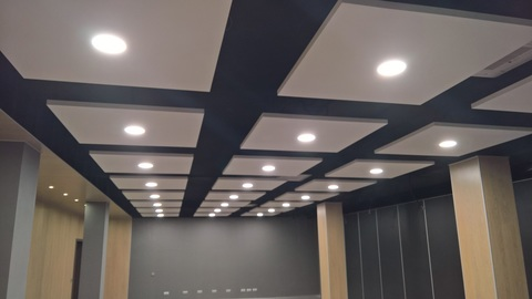 Освещение офиса строительной компании, г.Мытищи