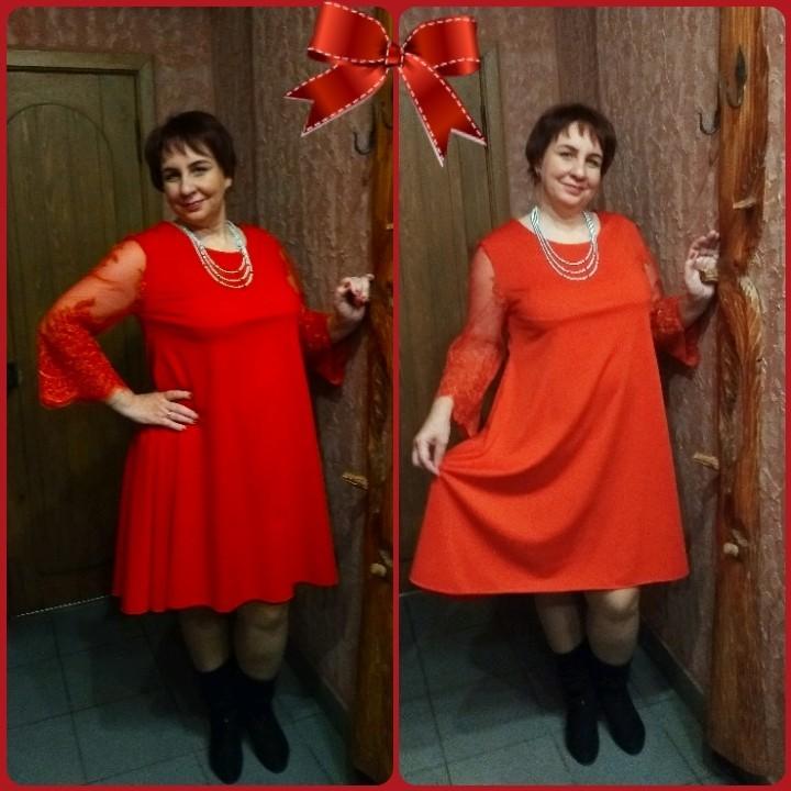 Отзыв о платье (нет на сайте 108)