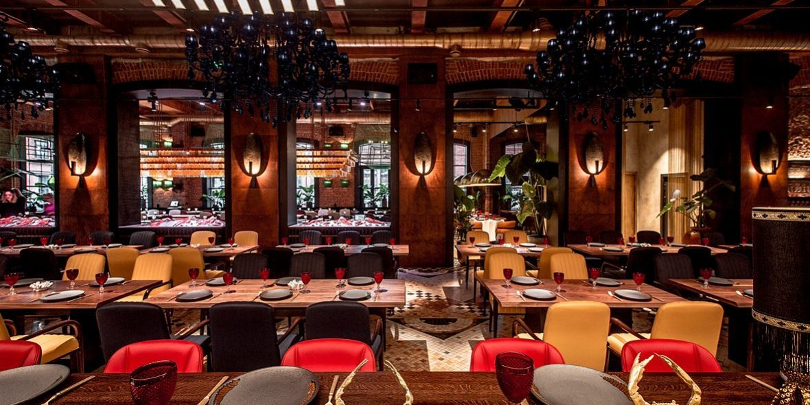 Новинки PlayGround от Schoenwald в новом ресторане Александра Раппопорта «КрабыКутабы»
