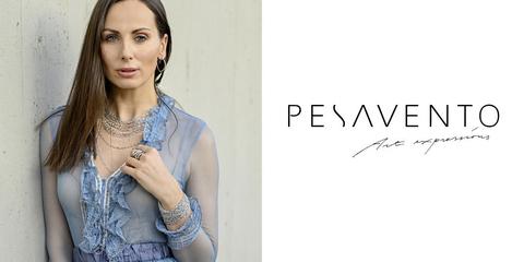 Амбассадор бренда Pesavento на Неделе моды в Милане