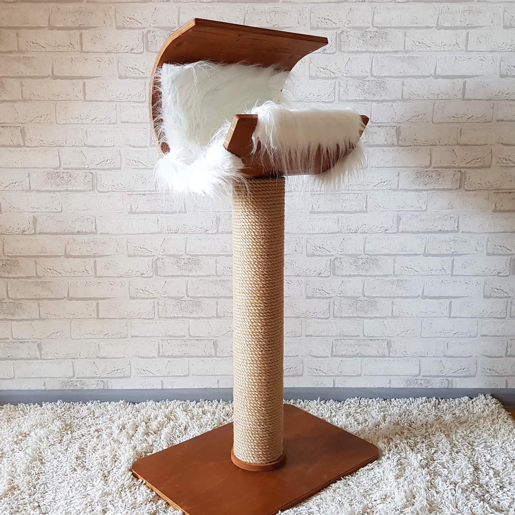 Новое поступление мебели  для кошек - домик и лежанка в стиле модерн