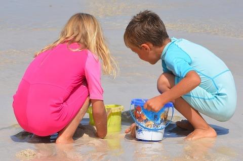 Летний досуг детей: извлекаем пользу из... песка!