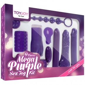 Любовный набор в фиолетовых тонах