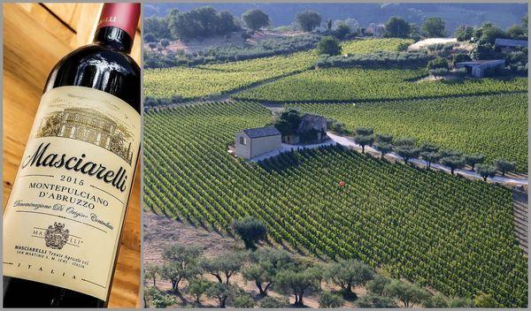 Вино недели с 28 мая - Masciarelli Montepulciano d'Abruzzo 2015