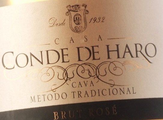 Вино недели с 25 декабря - Cava Conde de Haro Rose