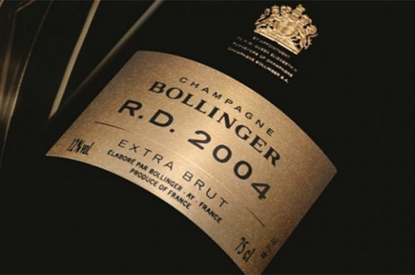 Bollinger R.D. 2004 - шампанское №1 2018 года