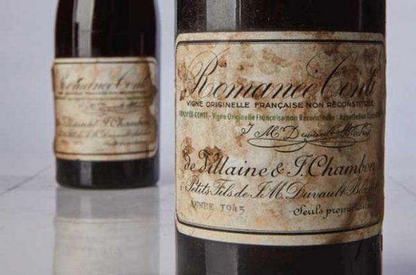 Romanée Conti поставил новый рекорд на аукционе Sotheby's